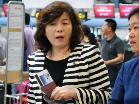 Choi Sun-hee, the top North Korean diplomat who handles relations with the US, said Pyongyang would be willing to meet with the Trump administration. Picture: APSource:AP