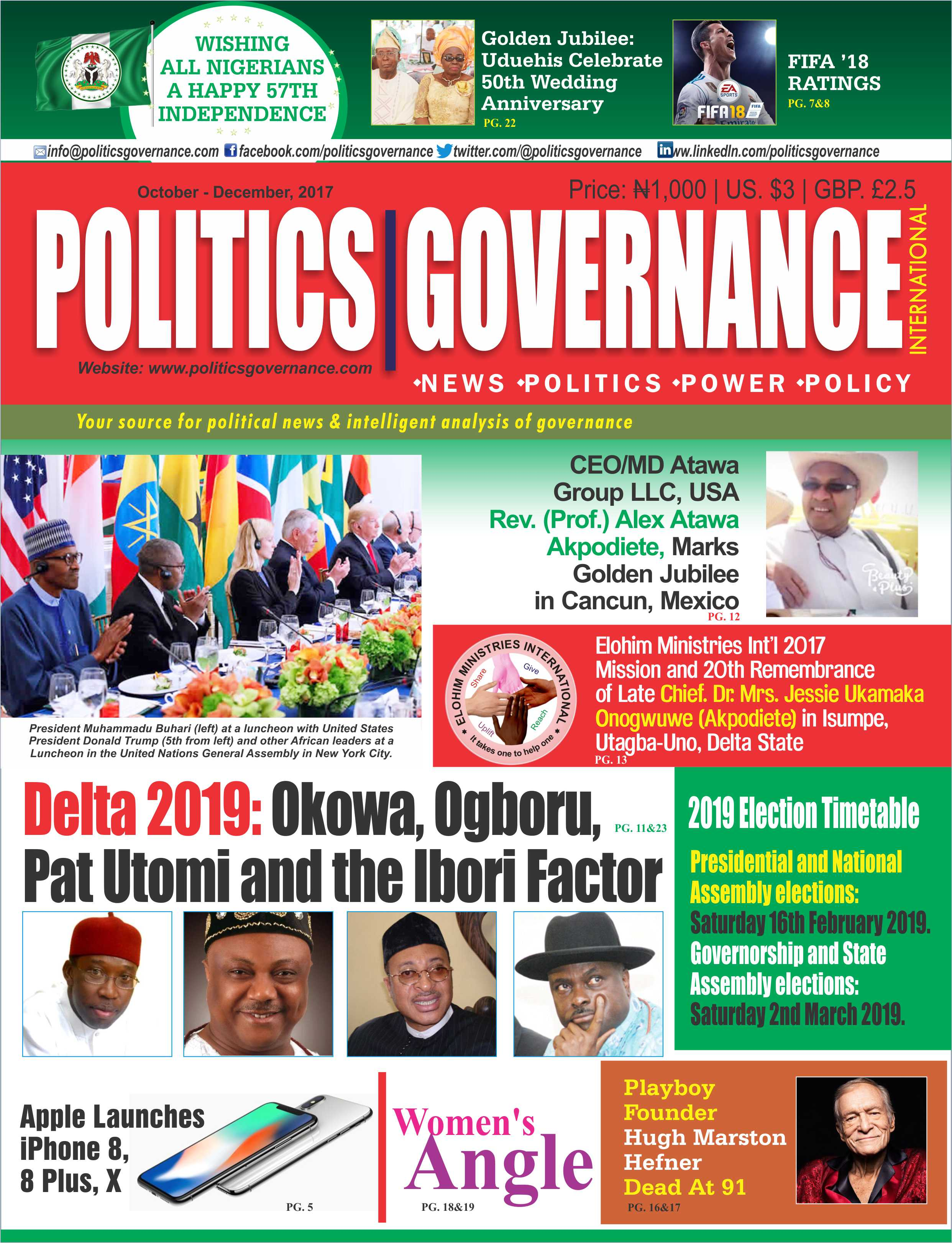 Delta 20:19: Okowa, Utomi, Ogboru and the Ibori factor