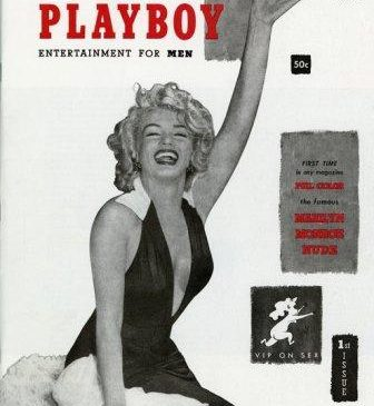 First issue of Playboy magazine featuring Marilyn Monroe naked