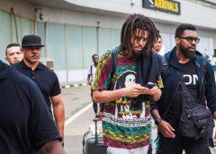 US rapper J. Cole arrives Nigeria for first-time concert