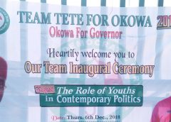 Team Tete for Okowa 2019 Inaugurated in Ughelli