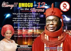 Ovie Of Uvwie Is A Courageous, Committed Monarch With Exemplary Traits – Oboro