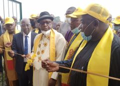 GCUOBA Class of '71 Renovates, Commission Sports As Arch.  Majoroh Is Returned PGWW For Second Term
