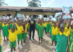 Okowa Aide, Prince Sony Jifas Ogbon Donates Learning Materials To Primary Schools In Ughelli South